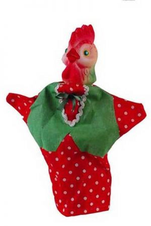 Кукла-перчатка петушок своими руками