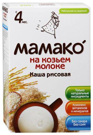 Варить каша на козьем молоке для ребенка
