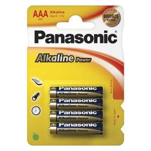 Батарейки PANASONIC LR03 Alkaline Power BL400