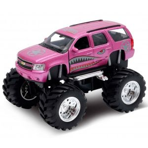 Welly 47002S Велли Модель машины 1:34-39 Chevrolet Tahoe Big Wheel Monster