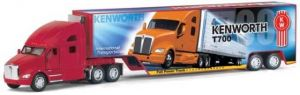 А/м кт1302д Kenworth T700 4 Col W/Container 1:68 кинсмарт 215303