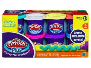 Набор 1206е24а из 8 банок PLUS PLAY-DOH HASBRO