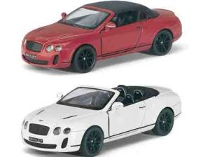 А/М кт5353д  12,5см Bentley Continental Supersports Convertible металл 1/12 215267