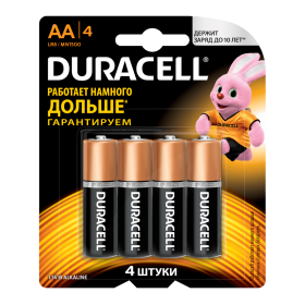 Батар duracell LR06 NEW BL4