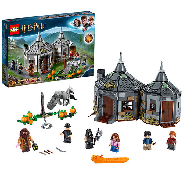 LEGO Harry Potter 75947 Конструктор ЛЕГО Гарри Поттер Хижина Хагрида: спасение Клювокрыла