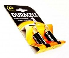 Батар duracell LR06 NEW BL2*6 2шт