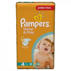 PAMPERS 40434/42660 Подгузники Sleep & Play Maxi (7-14 кг) Джамбо Упаковка 68 10%