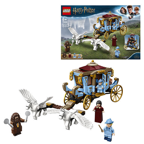 Lego Harry Potter Карета школы Шармбатон: приезд в хогвардс 75958